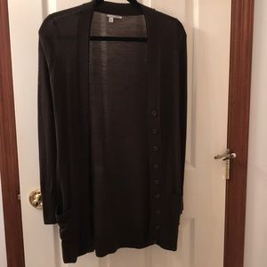 Brown Halogen Cardigan Size XS - $10